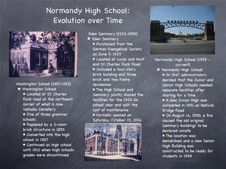 Normandy High School: Evolution Over Time